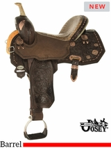 "13.5"" to 17"" Circle Y Martha Josey Ultimate Legend Barrel Saddle 1197 w/$210 Gift Card"