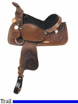 "** SALE ** 13"" American Saddlery Trail Master General Grant Youth Trail Saddle 215"