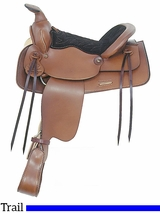 "** SALE ** 13"" American Saddlery Trail Master General Lee Youth Trail Saddle 315"