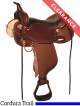 """13"""" High Horse Willow Springs Cordura Trail Saddle 6913 CLEARANCE"""