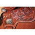 """13"""" to 15"""" Reinsman Molly Powell Painted Daisy Barrel Saddle 4262 w/$210 Gift Card"""