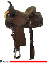 "13"" to 15"" Reinsman Molly Powell Vintage Cowgirl Barrel Racer 4265 w/$210 Gift Card"