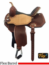 "13"" to 16"" Circle Y Lisa Lockhart Ambition Flex2 Barrel Saddle 1550 w/$210 Gift Card"