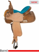 "13"" to 17"" Circle Y Barrel Racer 2166 w/$105 Gift Card"