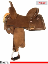 "13"" to 17"" Circle Y Ty Mitchell Ultimate Renegade Barrel Saddle 1152 w/$210 Gift Card"
