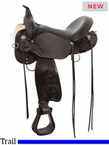 "13"" to 17"" High Horse by Circle Y Mesquite Trail Saddle 6864 w/$105 Gift Card"