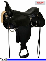 "13"" to 17"" High Horse by Circle Y Star Trail Saddle 6922 w/$55 Gift Card"