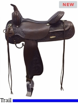 "13"" to 17"" High Horse by Circle Y Texas City Trail Saddle 6821"