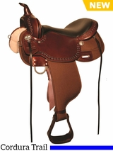 "13"" to 17"" High Horse Willow Springs Cordura Trail Saddle 6913 w/$55 Gift Card"