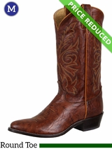 13EE Justin Boots Mens Chestnut Marbled Deerlite Western Boots 1560 CLEARANCE