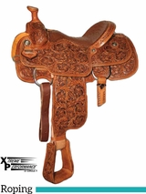 """** SALE ** 14"""" to 17"""" Circle Y XP Fairview Roper Saddle 2768 w/Free Pad"""