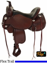 "14"" to 17"" Circle Y Alpine Flex2 Trail Saddle 2377 w/Free Pad"