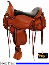 "14"" to 18"" Circle Y Pioneer Flex2 Trail Saddle 1665 w/$105 Gift Card"