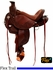"14"" to 17"" Circle Y Walnut Grove Flex2 Trail Saddle 1157 w/Free Pad"