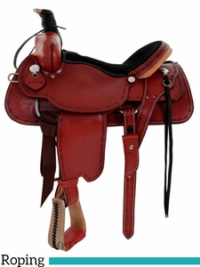 "** SALE ** 14"" to 17"" Dakota Roping Saddle 554"