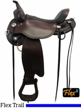 "14"" to 18"" Circle Y Salt River Flex2 Trail Saddle 1667 w/$105 Gift Card"