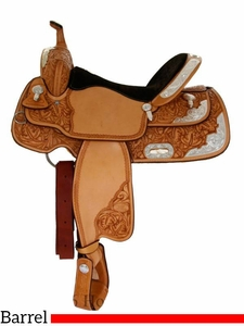 """** SALE ** 14"""" to 16"""" Billy Cook Silver Barrel Racer 2000"""