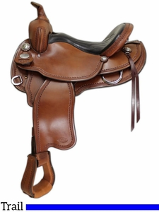 "14"" to 17"" Crates Light Ladies Trail Saddle 2120"