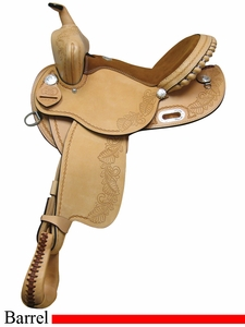 "14"" 15"" 16"" Rocking R Barrel Saddle 334"