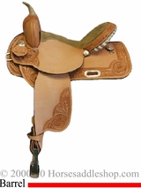 "14"" 15"" 16"" Rocking R Natural Light Barrel Racer 270"