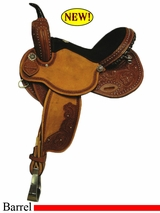 "14"" to 16"" Rocking R Revolutionary Barrel Saddle 3726"
