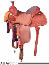"** SALE ** 13.5"" to 17"" Martin Saddlery High Plains All Around Saddle mr14MDS"