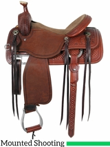 "13.5"" to 16"" Martin Saddlery Mounted Shooting Saddle mr45"
