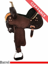 "14.5"" Circle Y Josey Ultimate Cash Wide Barrel Racer 1179 CLEARANCE"