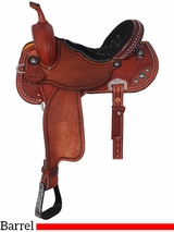 "13"" to 17"" Double J Pozzi Pro Barrel Racer SBP024"