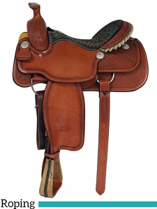 "14.5"" to 16"" Billy Cook Arena Roping Saddle 2147"
