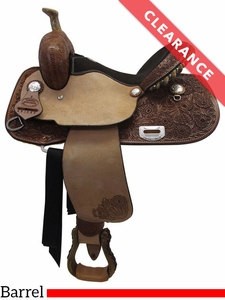 "14"" Billy Cook Connie Combs Medium Barrel Saddle 291233 CLEARANCE"