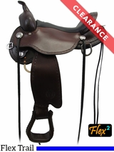"14"" Circle Y Salt River Medium Flex2 Trail Saddle 1667 CLEARANCE"