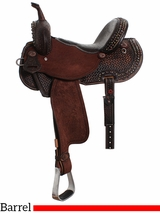 "13"" to 17"" Double J Pozzi Pro Barrel Racer SBP440"