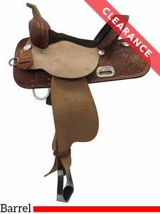 "SOLD 2017/07/11  15"" High Horse by Circle Y Liberty Wide Barrel Saddle 6212 CLEARANCE"