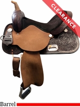 "15"" High Horse by Circle Y Liberty Barrel Saddle 6212 CLEARANCE"