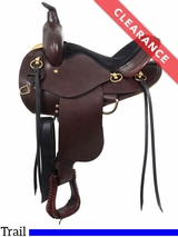 "14"" South Bend Saddle Co ""Elkhart Eagle"" Trail Saddle 1002 CLEARANCE"
