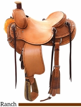 "14"" to 16.5"" Reinsman Association Ranch Saddle 4617 w/$210 Gift Card"