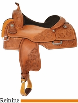 "15"" to 17"" Reinsman Reining Saddle 4763 w/$210 Gift Card"