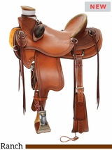 "** SALE ** 14"" to 16.5"" Reinsman Wade Ranch Saddle 4614 w/$210 Gift Card"