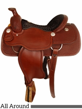 "14"" to 16"" American Saddlery Mastercraft All Around Saddle 2382"