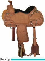 "14"" to 16"" Circle Y Mini Snake Border Tooled Roping Saddle 2778 w/$105 Gift Card"