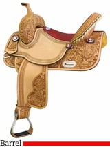 "14"" to 16"" Tex Tan Connie Combs Gator Racer Barrel Saddle 292206"