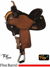 "14"" to 17"" Circle Y Kelly Kaminski KK Faith Flex2 Barrel Racer 1524 w/$105 Gift Card"