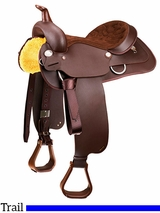 "14"" to 17"" Wintec Western All-rounder Saddle FQHB 800100"