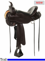 "14"" to 18"" Circle Y Blackfoot Flex2 Trail Saddle 2381 w/$105 Gift Card"