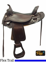 "14"" to 18"" Circle Y Copper Mine Flex2 Trail Saddle 1565 w/$105 Gift Card"
