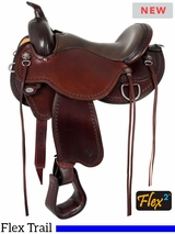"14"" to 18"" Circle Y Nova Flex2 Trail Saddle 1566 w/$105 Gift Card"