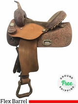 "14"" Used Alamo Wide Flex Barrel Racer 1234 usal3974 *Free Shipping*"