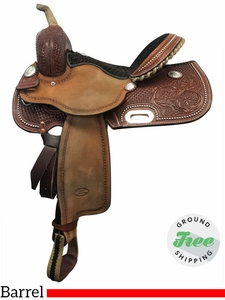 """14"""" Used Billy Cook Wide Barrel Racer 1930 usbi3829 *Free Shipping*"""
