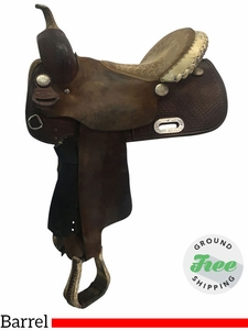 """14"""" Used Billy Cook Wide Barrel Racer 2030 usbi3657 *Free Shipping*"""